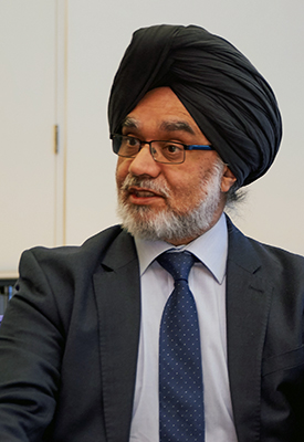 The Honourable Mr Justice Singh